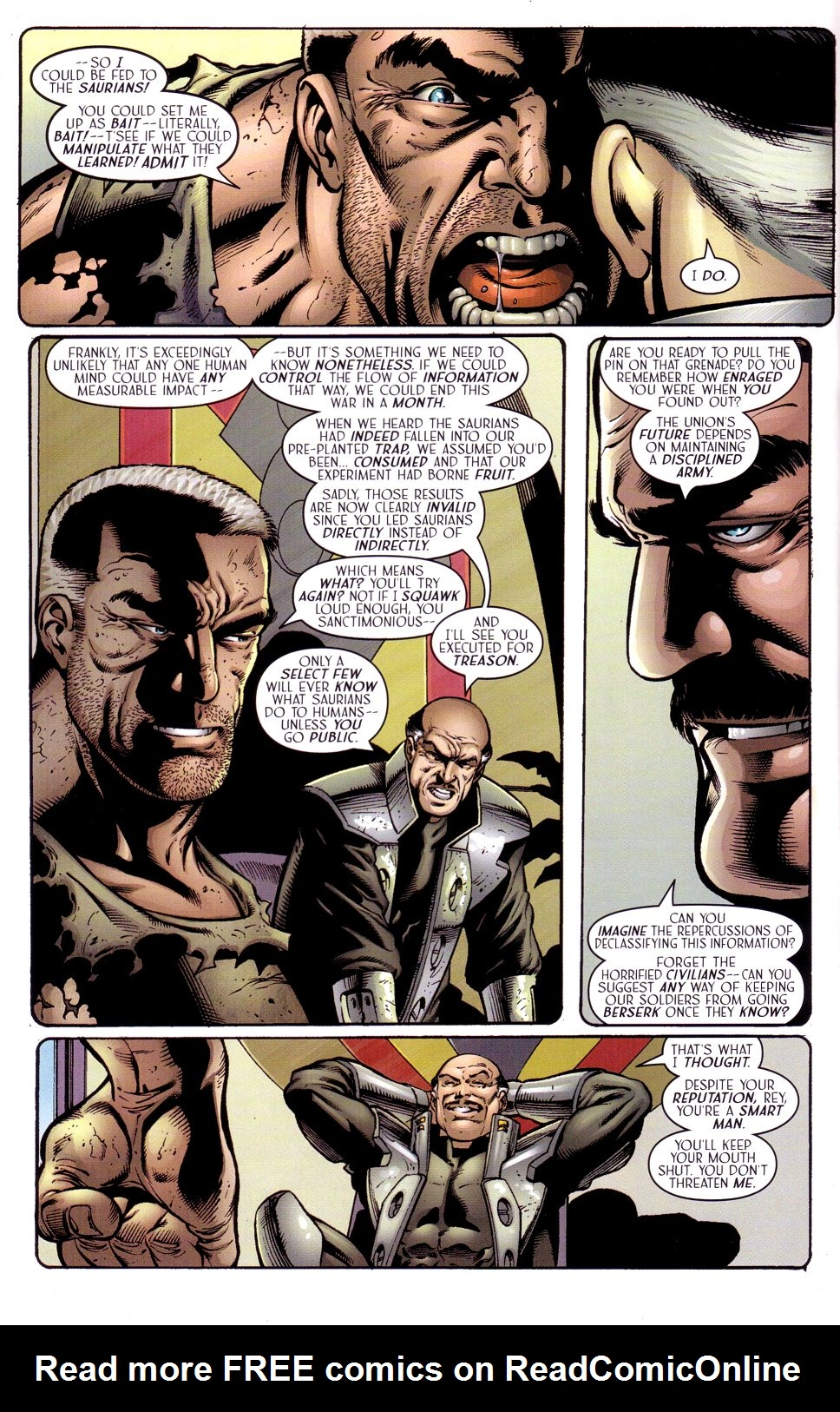 Read online Sigil (2000) comic -  Issue #15 - 16