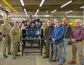 Tri-County Metal Fabrication Students Build Battering Rams for the Massachusetts State Police