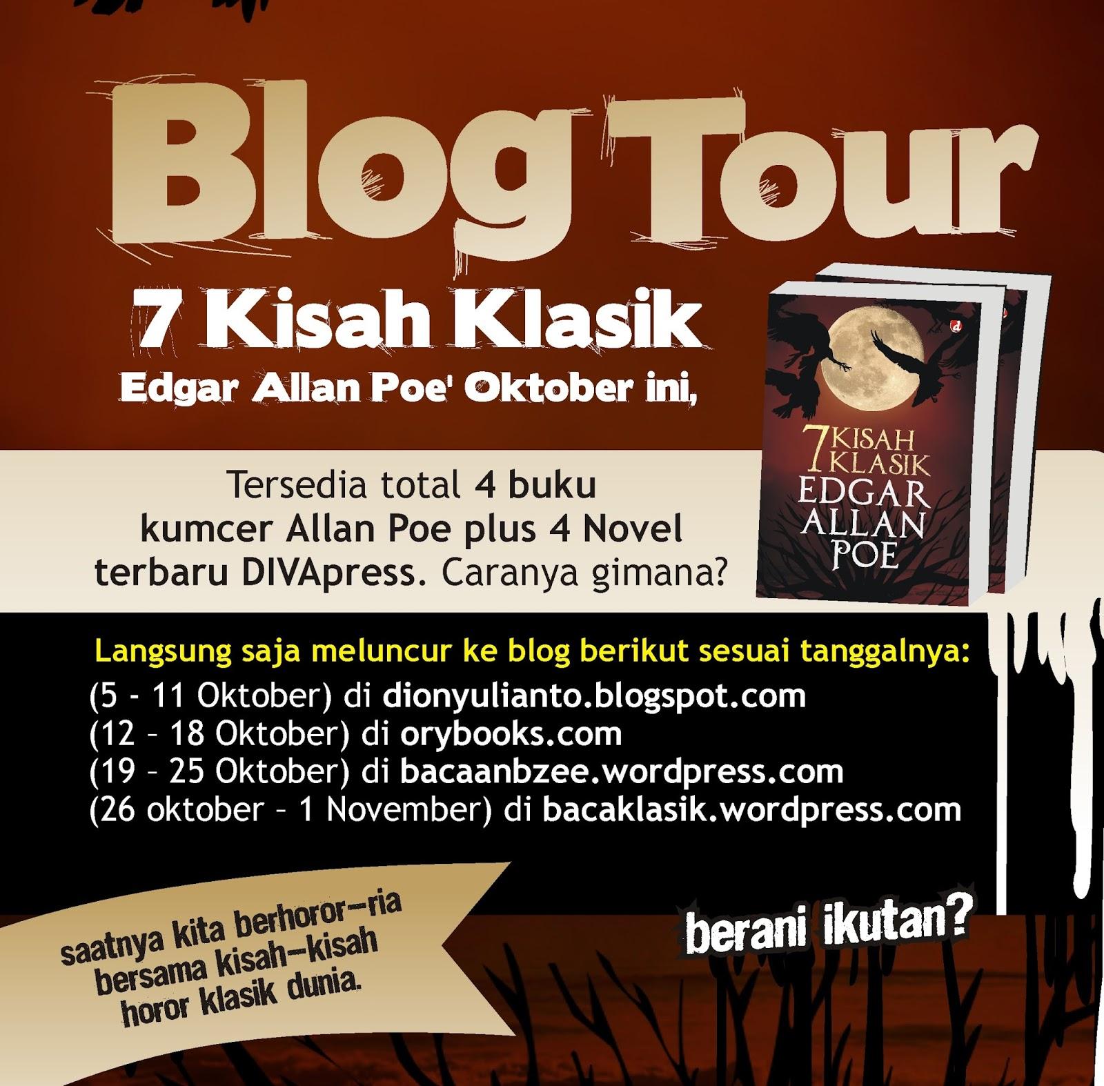 Baca Biar Beken Pengumuman Pemenang Blogtour 7 Kisah Klasik Edgar