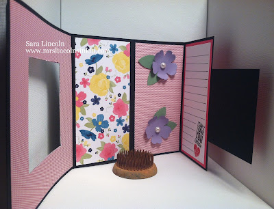 Mrs. Lincoln's Inkin: Double Tri-Fold Card
