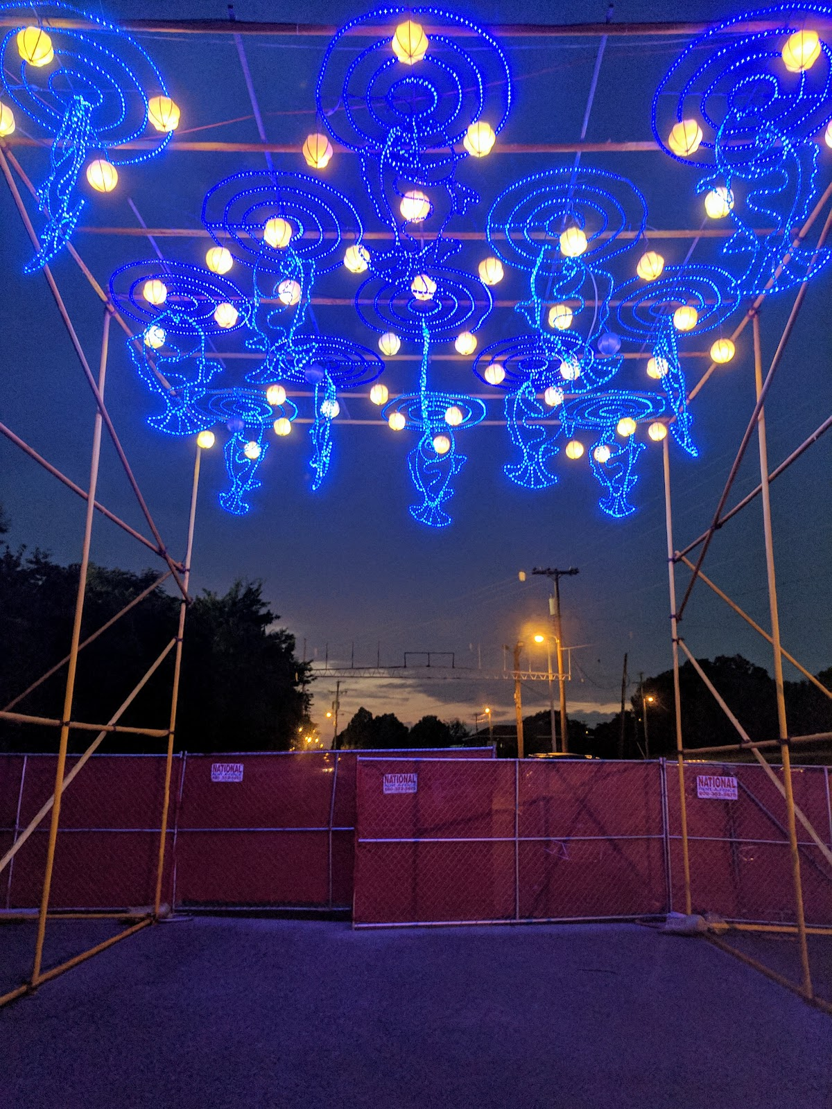 china lights at the fairgrounds nashville