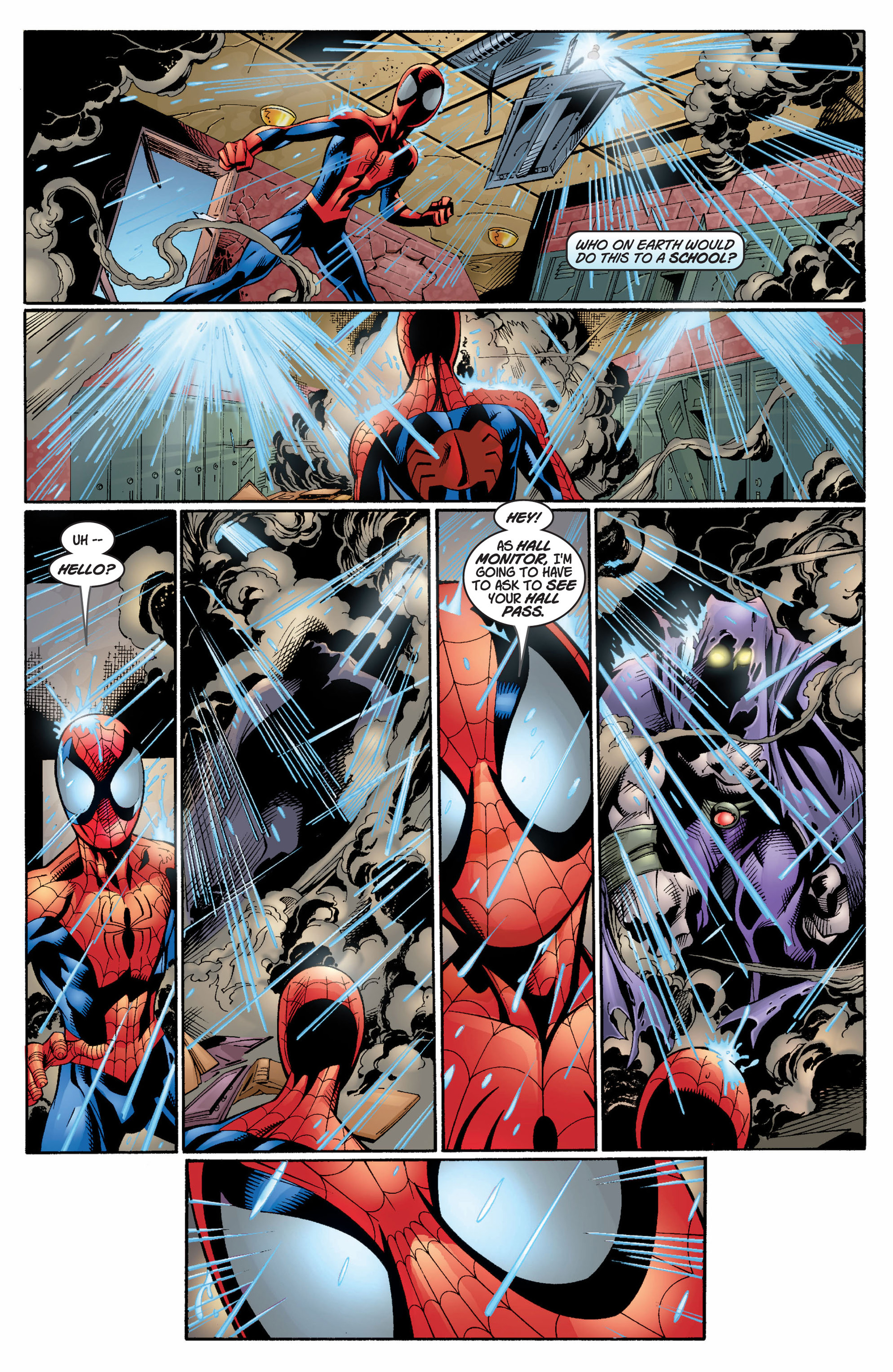 Read online Ultimate Spider-Man (2000) comic -  Issue #6 - 18
