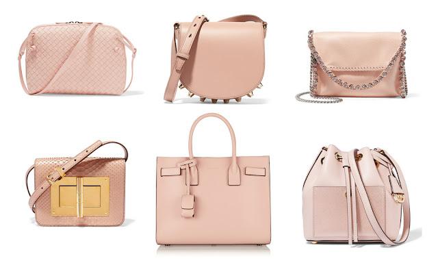 Сумки цвета Розовый Кварц