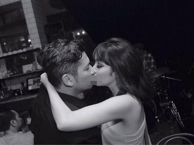 Muach! Ciuman Mesra Gisel di Hari Ulang Tahun Gading Marten