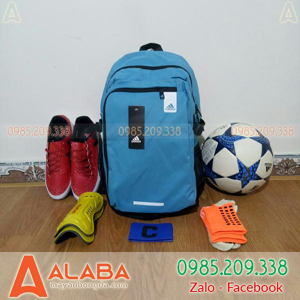 Mẫu Balo Bóng Đá Adidas 01-L2 Màu Xanh Nhạt