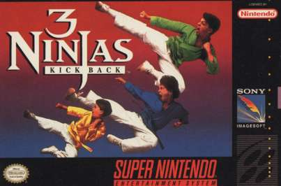 ROMs - 3 Ninjas Kick Back (Português) - SNES Download