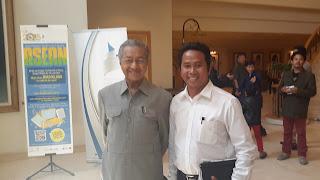Bersama Tun Mahathir di LPF Putrajaya