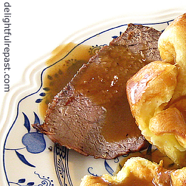 Roast Beef - How to Cook a Small Roast - It's a bit trickier than cooking a large one / www.delightfulrepast.com