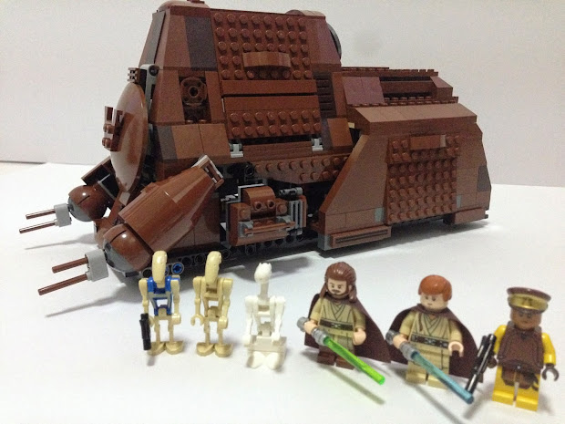 Lego Moc Star Wars Mtt - Exploring Mars