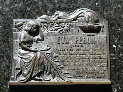 Tumba de Eva Peron