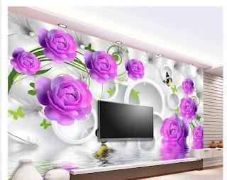 Wallpaper Dinding 3D Rumah Minimalis Yang Bisa Merubah Mood Anda
