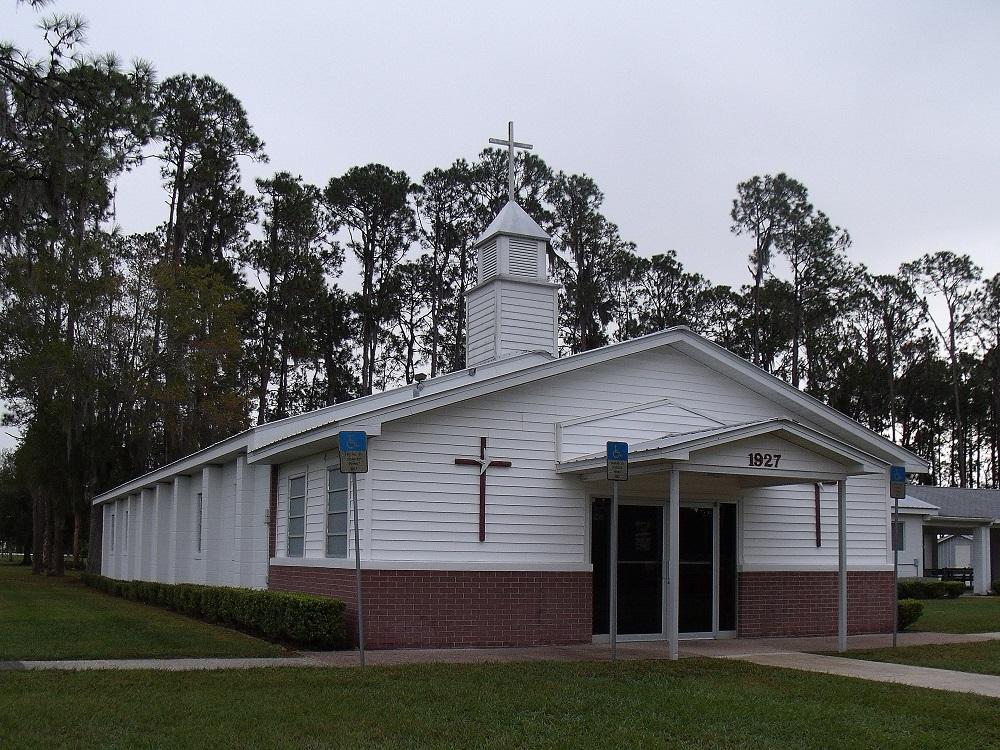 Iglesia bautista en Lorida