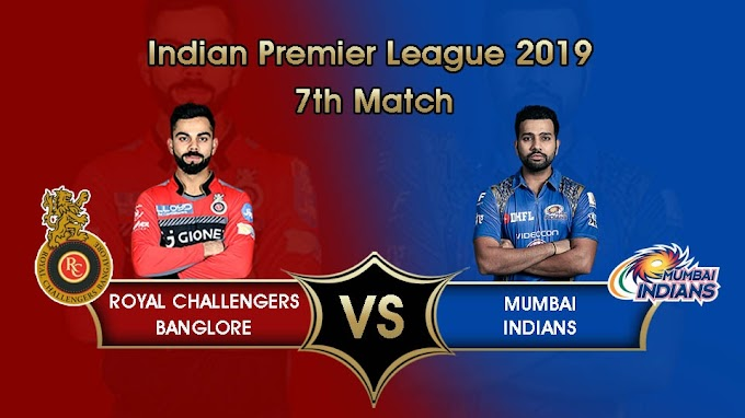 IPL 2019: RCB will host Mumbai on 28th March, See Head to head stats and Probable XI