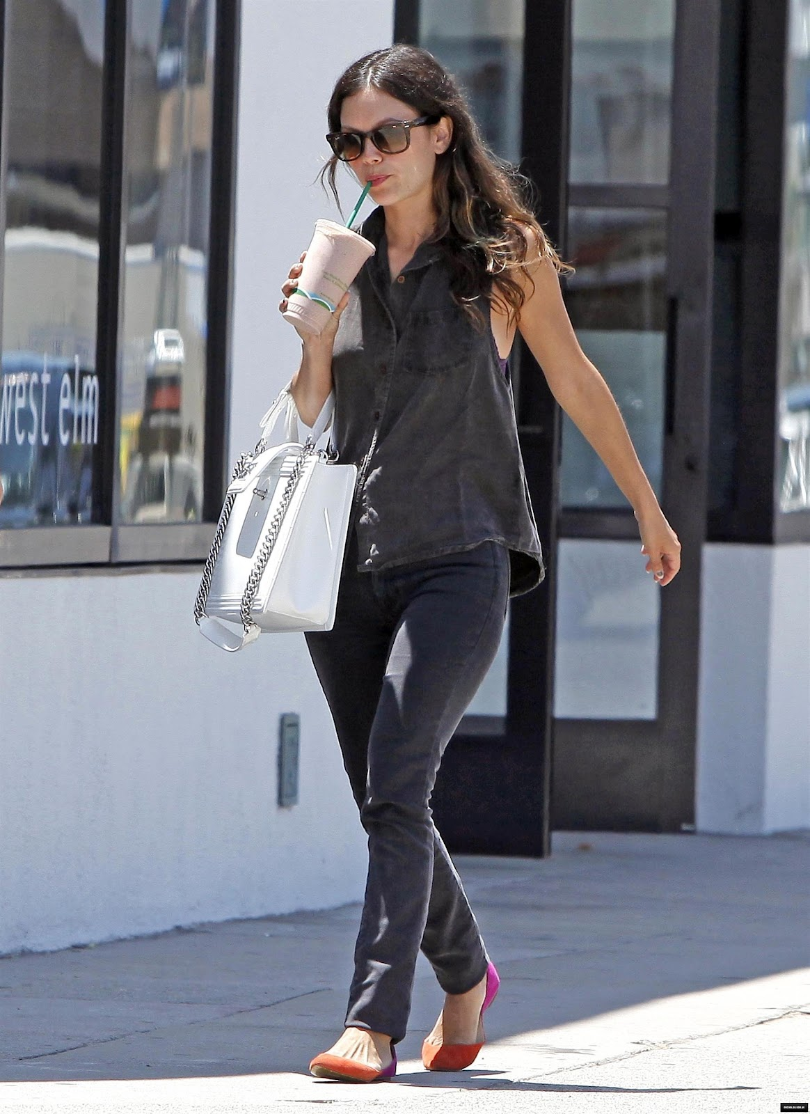 Vickynspiration Rachel Bilson Six Outfits One Bag