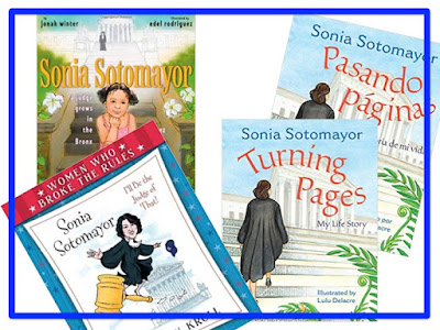 covers of books about Sonia Sotomayor