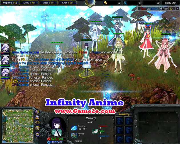 Infinity Anime V103 AI