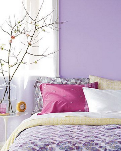 Lilac Bedrooms With Nice Colors 4