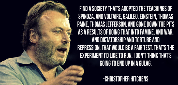 Quote Of The Day: Hitchens On The Fair Test