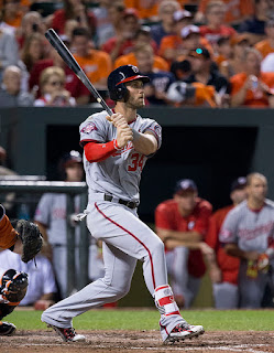 Bryce Harper Nationals Fantasy Baseball Playoffs