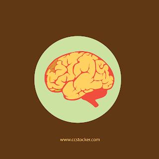 Brain free flat icon