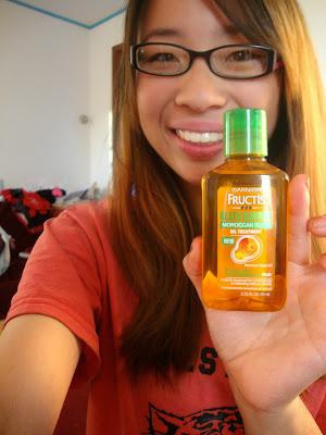 Garnier Fructis Sleek & Shine Moroccan Sleek Oil Treatment Review