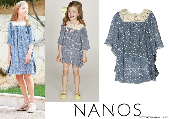 Princess Sofia wore Nanos Dress