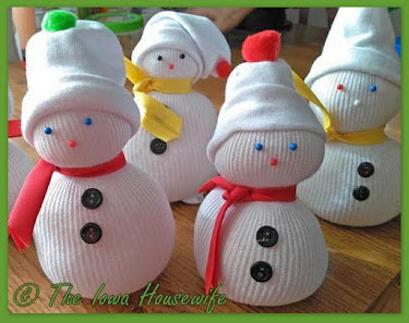 Our Holiday Header Recipes and Snowmen