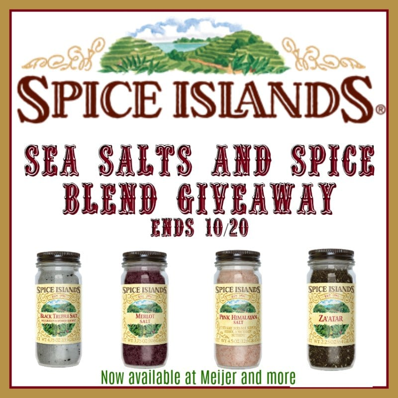 Spice Islands Giveaway