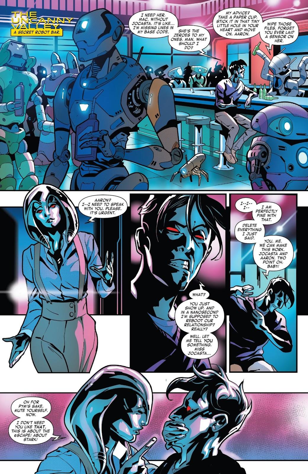 Read online Tony Stark: Iron Man comic -  Issue #7 - 17