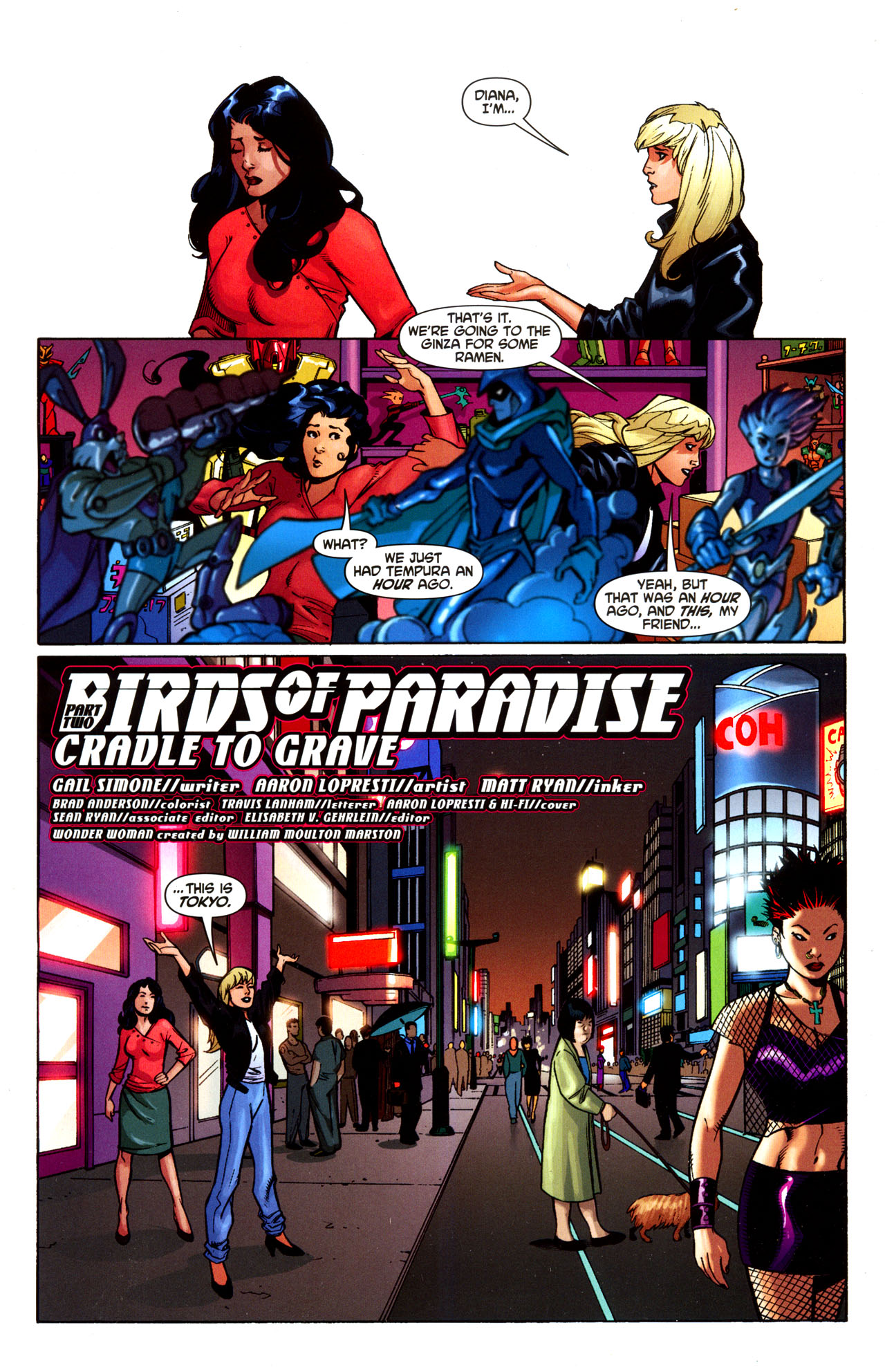 Read online Wonder Woman (2006) comic -  Issue #35 - 4