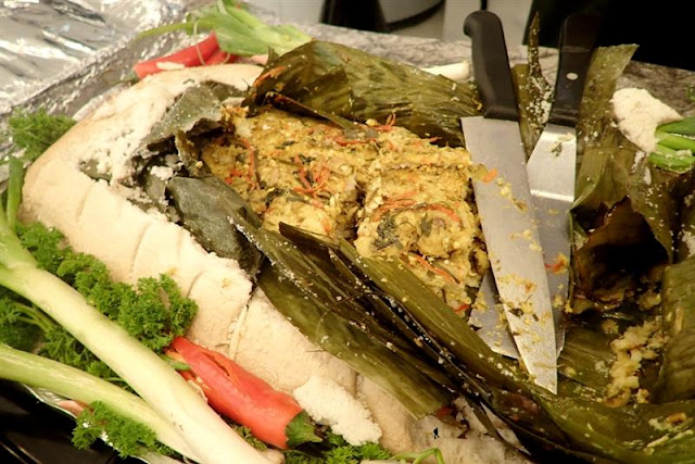Samsara Pepes Ikan Patin Ungkep Garam
