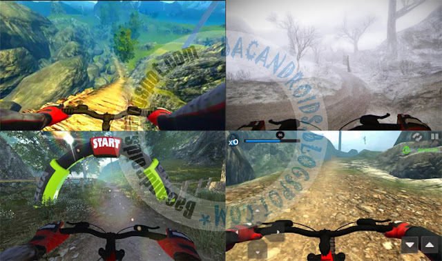 MTB Downhill Multiplayer Apk terbaru Android v1.0.5
