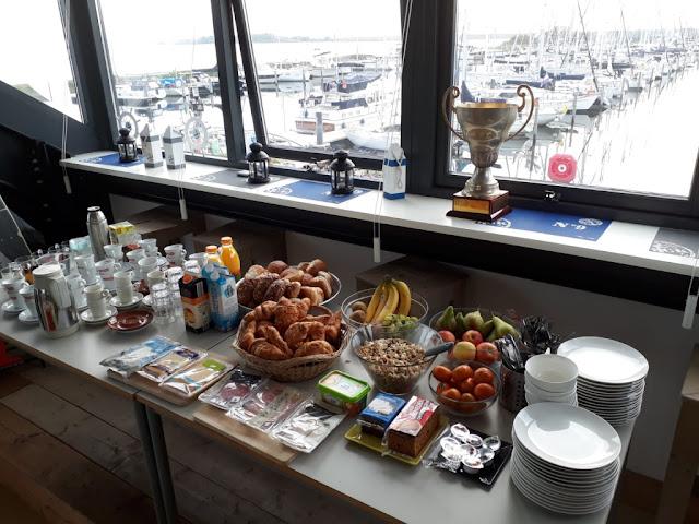 ontbijtbuffet wsv jachthavenbruinisse