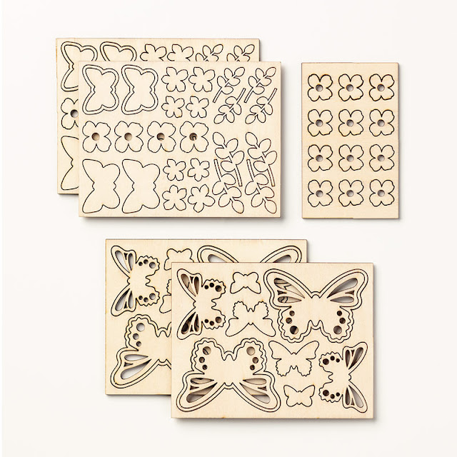 Stampin' Up! Saleabration Butterfly elements