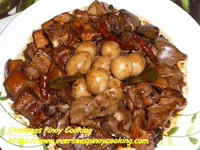 Special Mixed Adobo Recipe