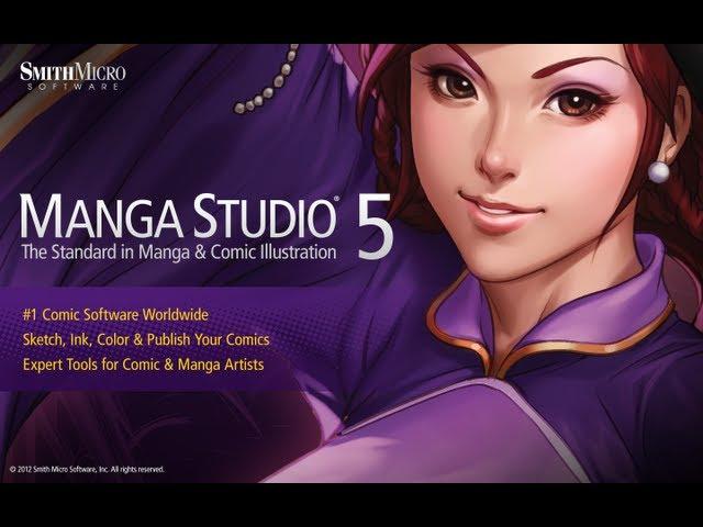 Manga Studio 5 EX 64 bits