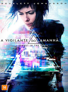 A Vigilante do Amanhã: Ghost in the Shell - HDRip Dual Áudio