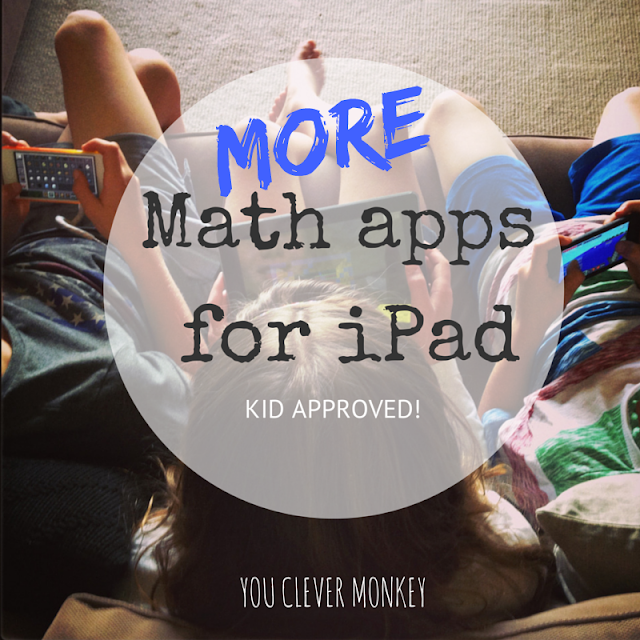 More Kid Approved Maths Apps for iPad | you clever monkey