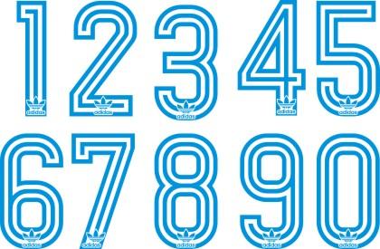 Adidas 1980 font numbers 5a89ed1c9e59c