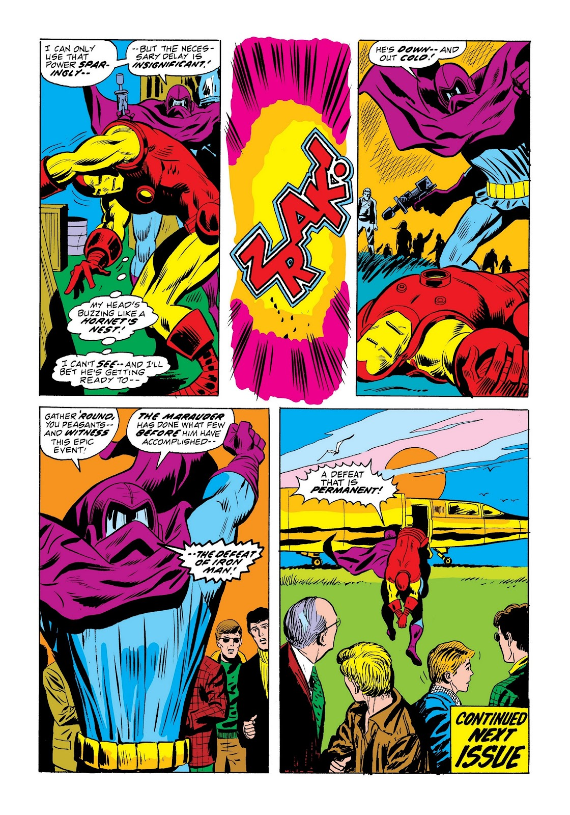 Read online Marvel Masterworks: The Invincible Iron Man comic -  Issue # TPB 9 (Part 2) - 52