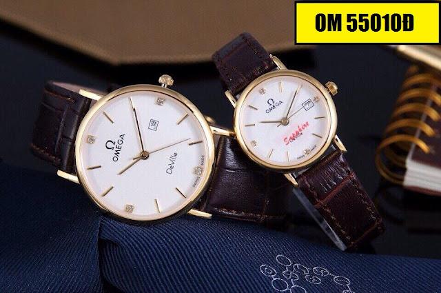 Đồng hồ dây daOmega 5501Đ