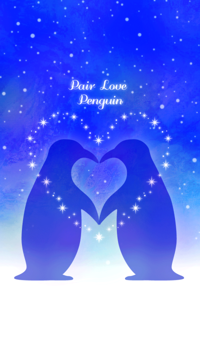 Pair Love Penguin