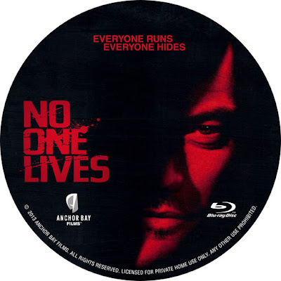 Label Bluray No One Lives (Ninguém Sobrevive)