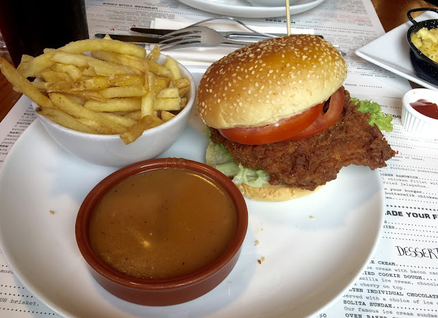Solita, Northern Quarter - Manchester Food Review Chicken Burger