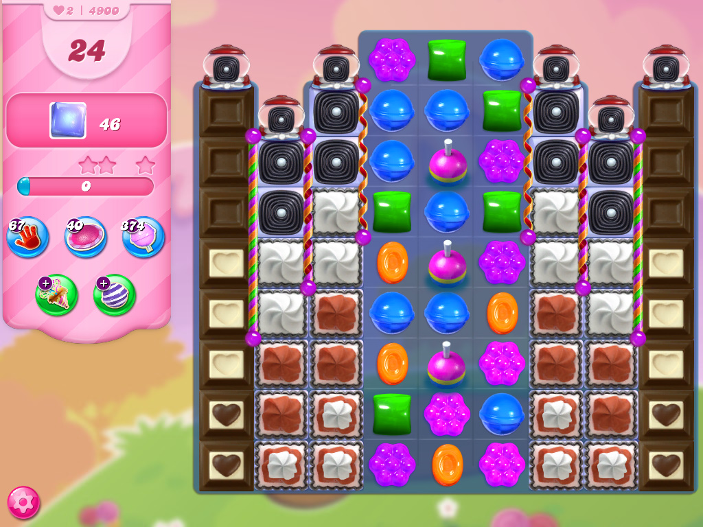 Candy Crush Saga level 4900