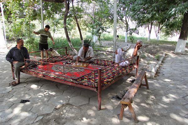 Ouzbékistan, Samarcande, tapshan, tapchane, © L. Gigout, 2012