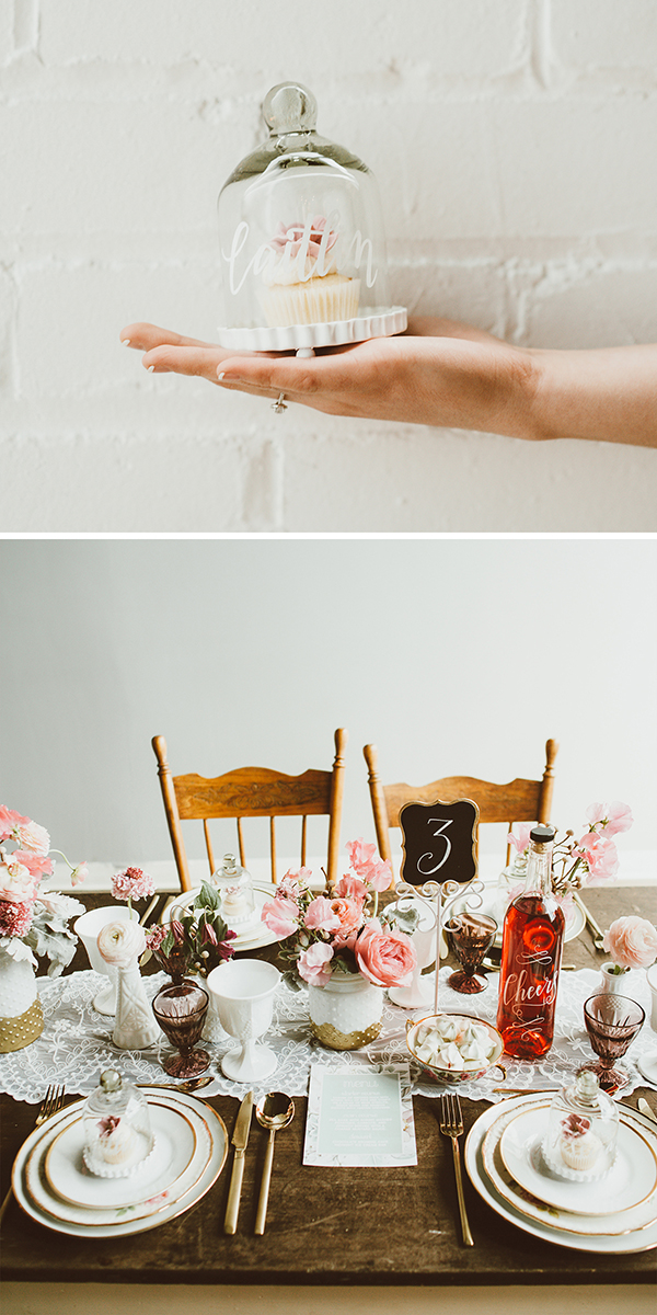 wedding inspiration for a sweettable and guest tables | Creative Bag