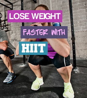 HIIT training weight loss