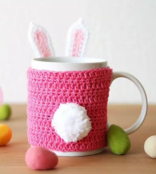 Bunny Mug Cozy - Free Pattern