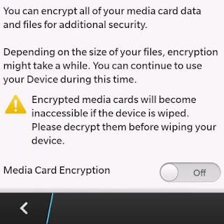 MicroSD Encryption